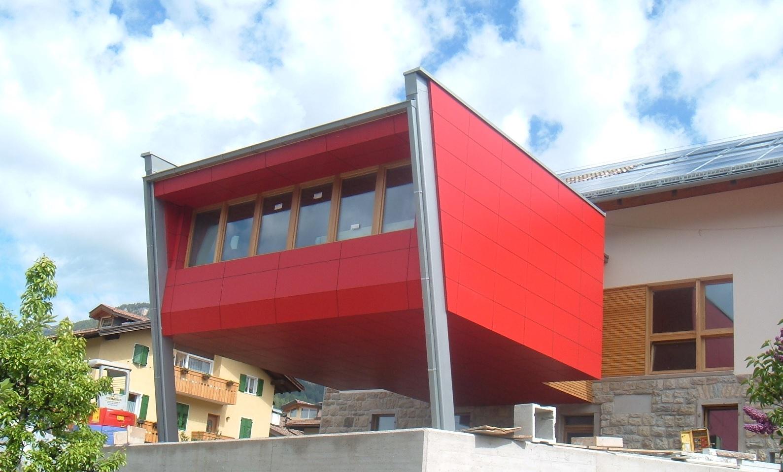Ristrutturazione e risanamento conservativo ex caseificio Tesero