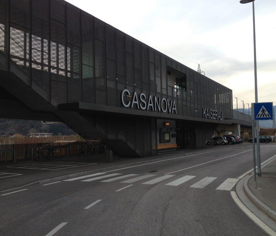 Costruzione di una nuova fermata ferroviaria, Bolzano