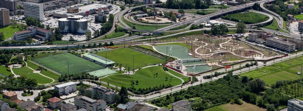 Lavori di realizzazione nuovo parco urbano ed area sportiva a Melta di Gardolo