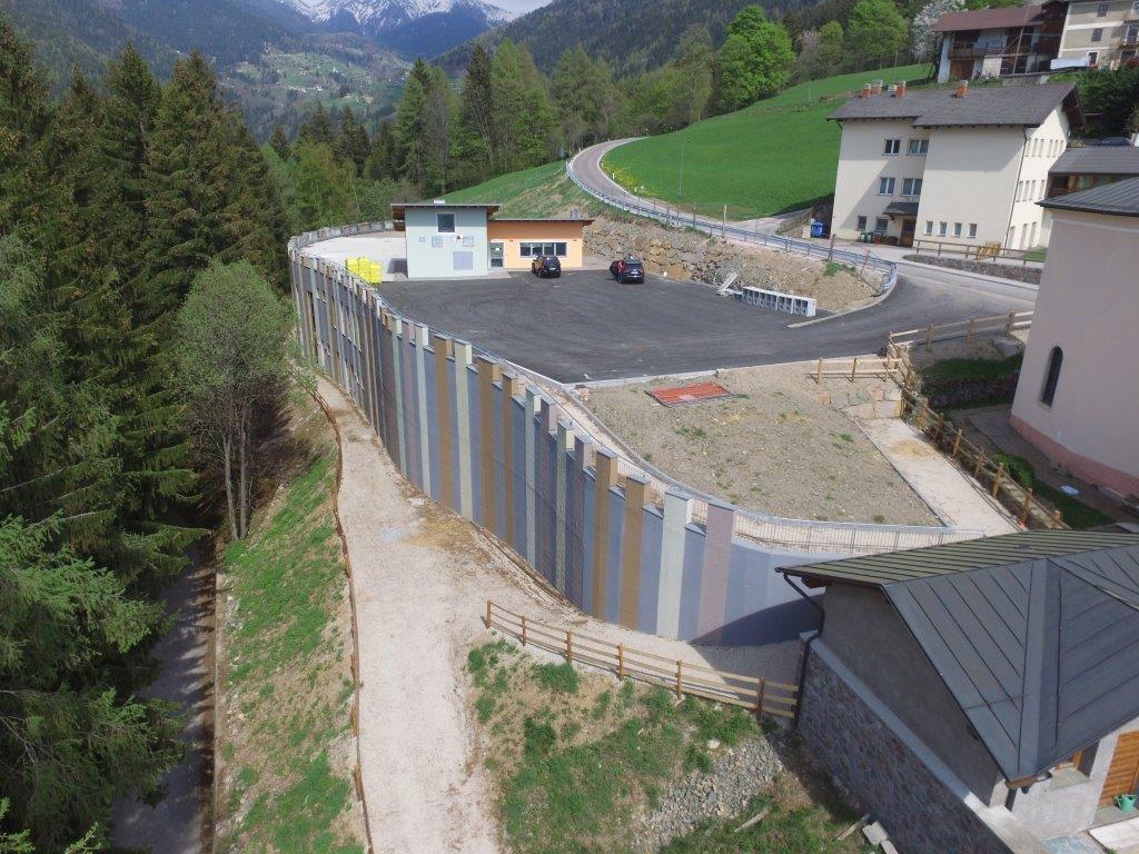 Realizzazione del nuovo Centro sportivo a Fierozzo
