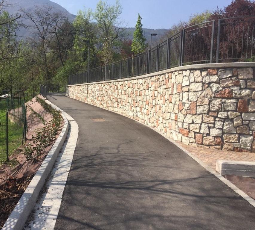 Realizzazione del collegamento ciclabile e pedonale tra Via Gramsci ed il Parco del Salè