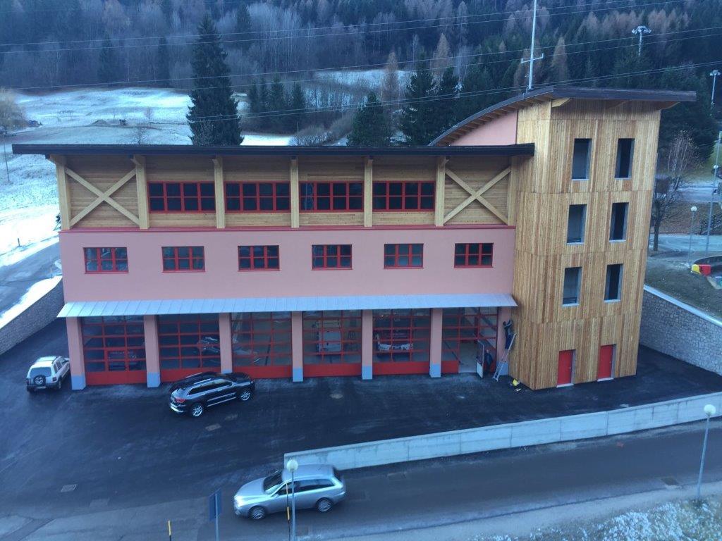 Costruzione nuova caserma Vigili del fuoco a Mezzana