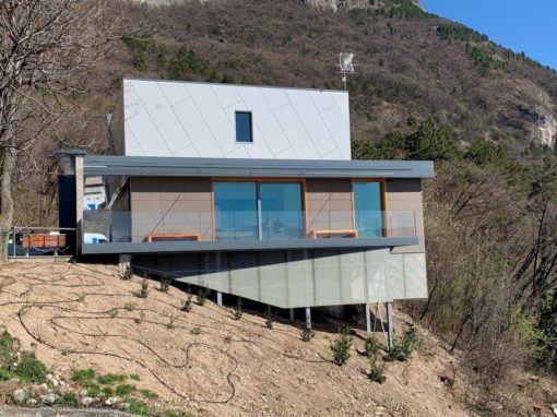 Lavori di miglioramento dei locali della stazione di Valle Funivia Monte Mezzocorona