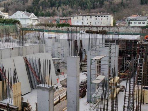 Realizzazione nuova biblioteca Pergine Valsugana